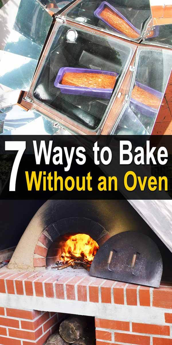 7 Ways to Bake Without an Oven