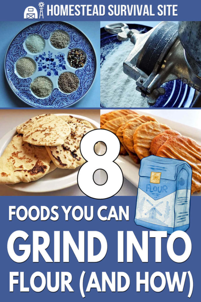 8 Foods You Can Grind Into Flour (And How)