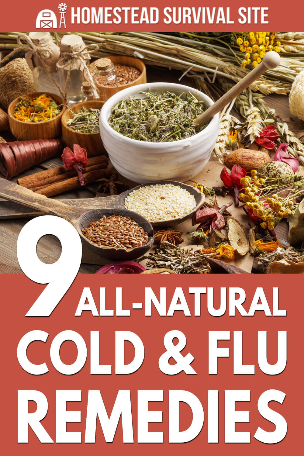 9 All-Natural Cold & Flu Remedies