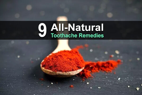 9 All-Natural Toothache Remedies