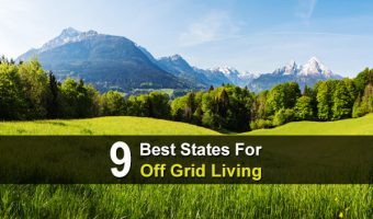 9 Best States For Off Grid Living