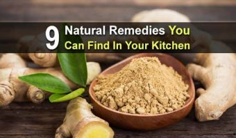 9 Natural Remedies You Can Find In Your Kitchen
