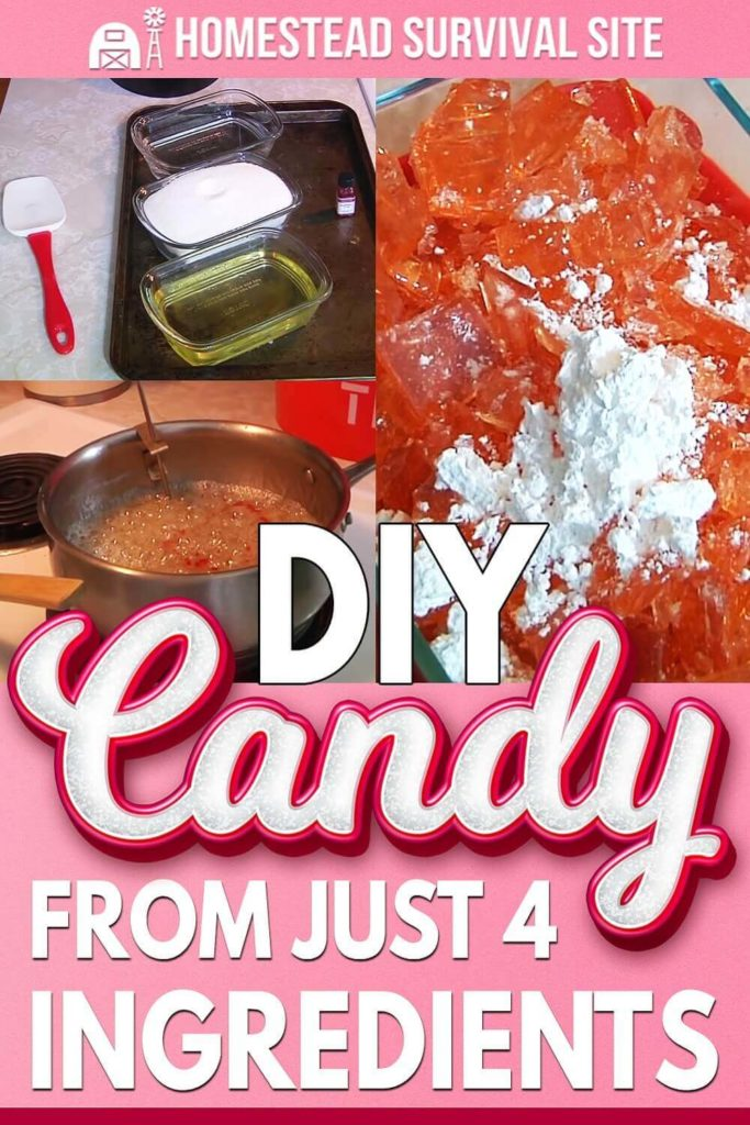DIY Candy From Just 4 Ingredients