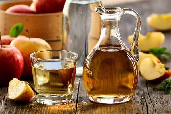 Apple Cider Vinegar in Pitcher and Glass