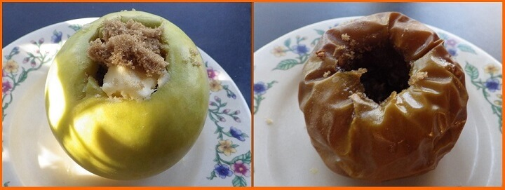 Baked Apples Process