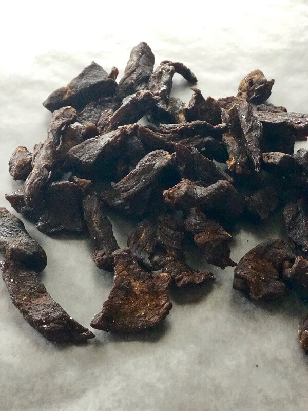 Beef Jerky from Air Fryer