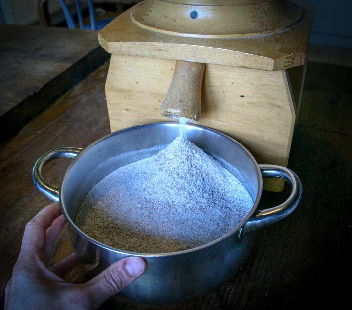 Bowl Full Of Flour