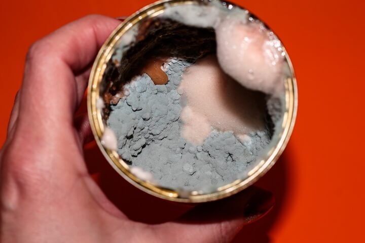 Canned Food Expired and Moldy