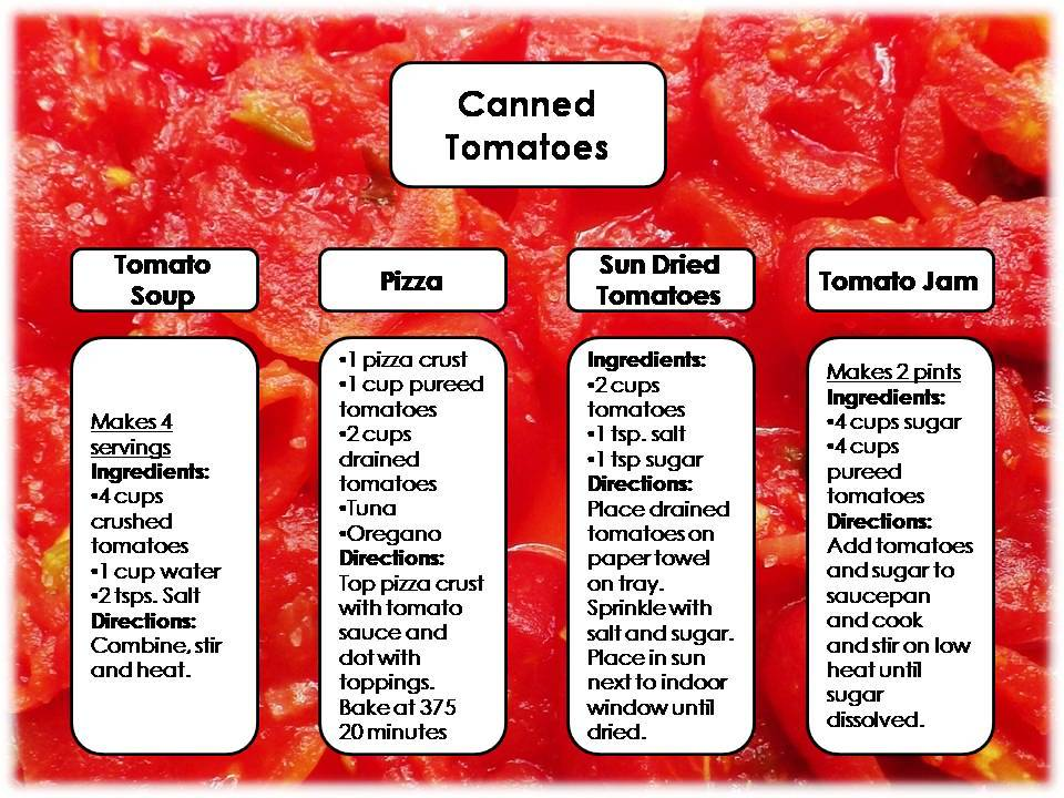 Canned Tomatoes Recipes