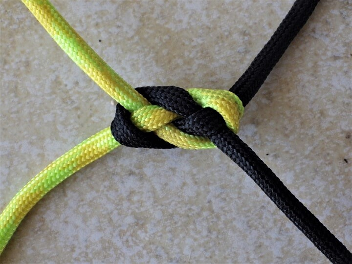 Carrick Bend Tightened