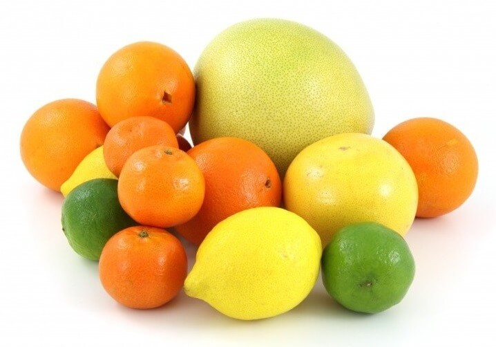 Citrus Fruits on Table