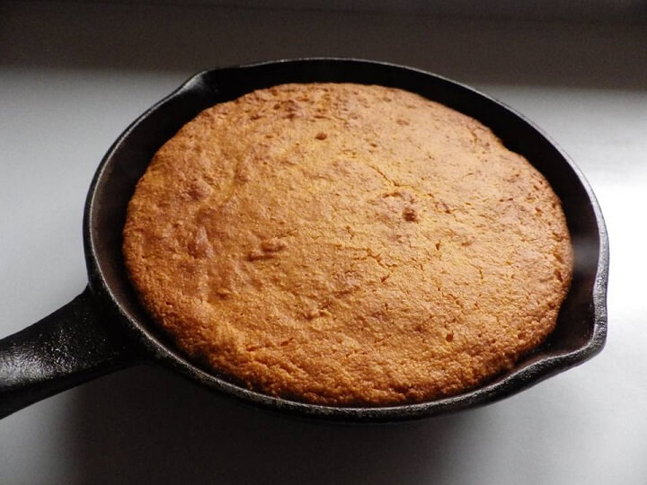 Cornpone in a Pan