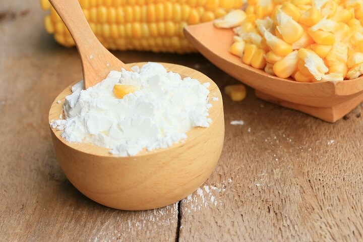 Cornstarch in a Bowl