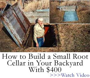 How to Build a Small Root Cellar in Your Backyard
