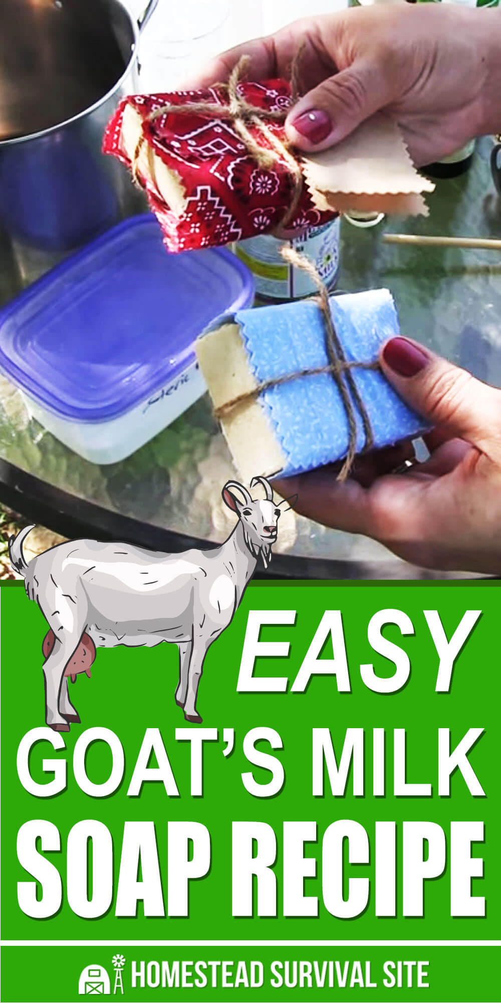 Easy Goat Milk Soap Recipe