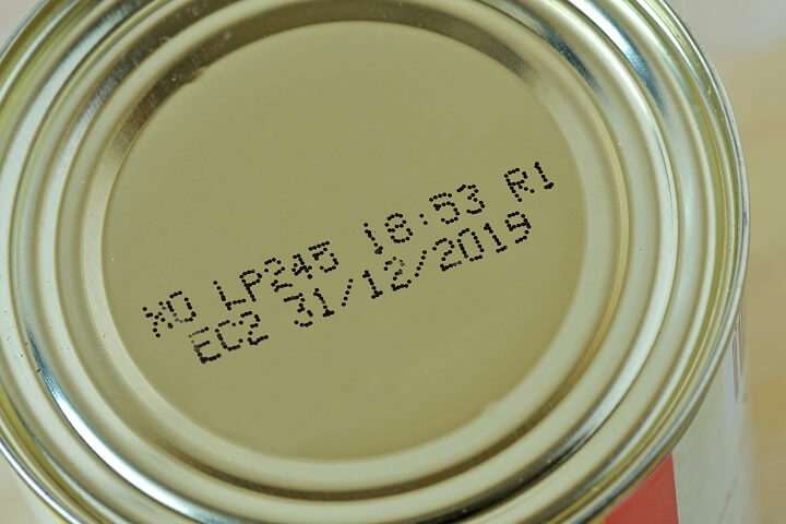 Expiration Date On Can