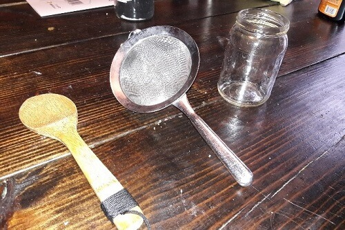 Fine Mesh Sieve | How to Make Old-Fashioned Gunpowder