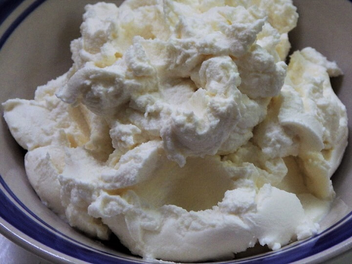 Finished Ricotta