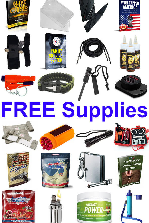 Free Survival Supplies