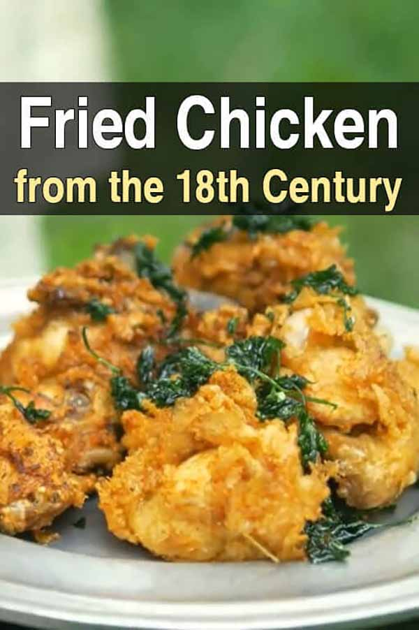 Fried Chicken from the 18th Century