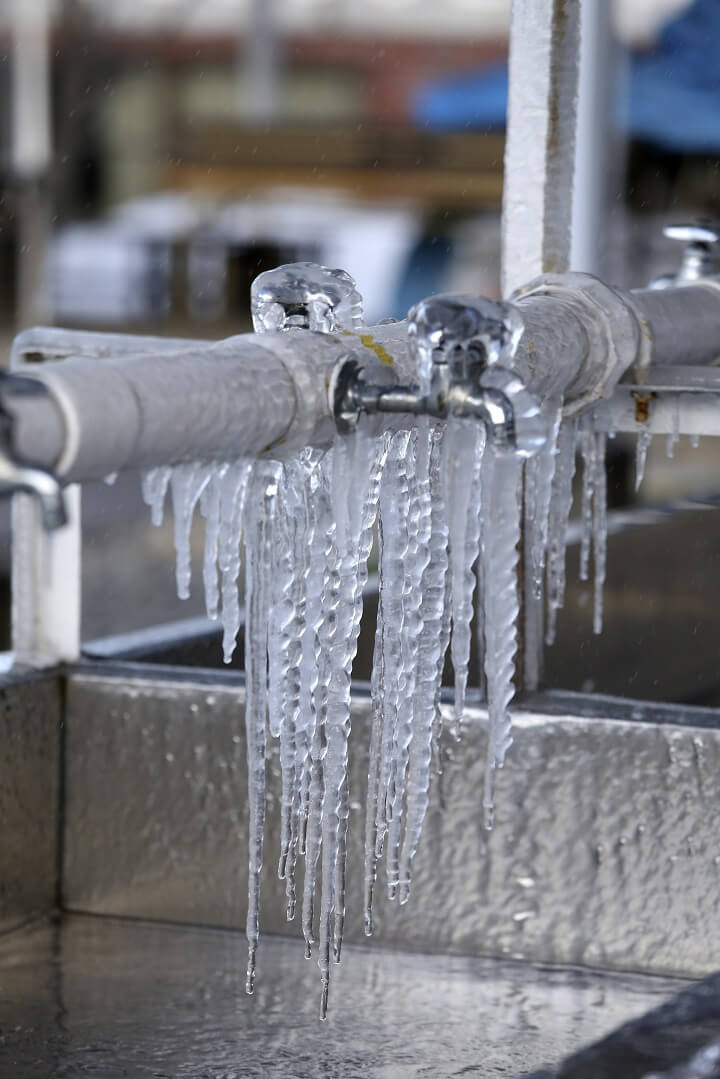 Frozen Pipes and Faucet