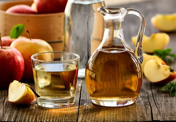 Glass Of Apple Cider Vinegar