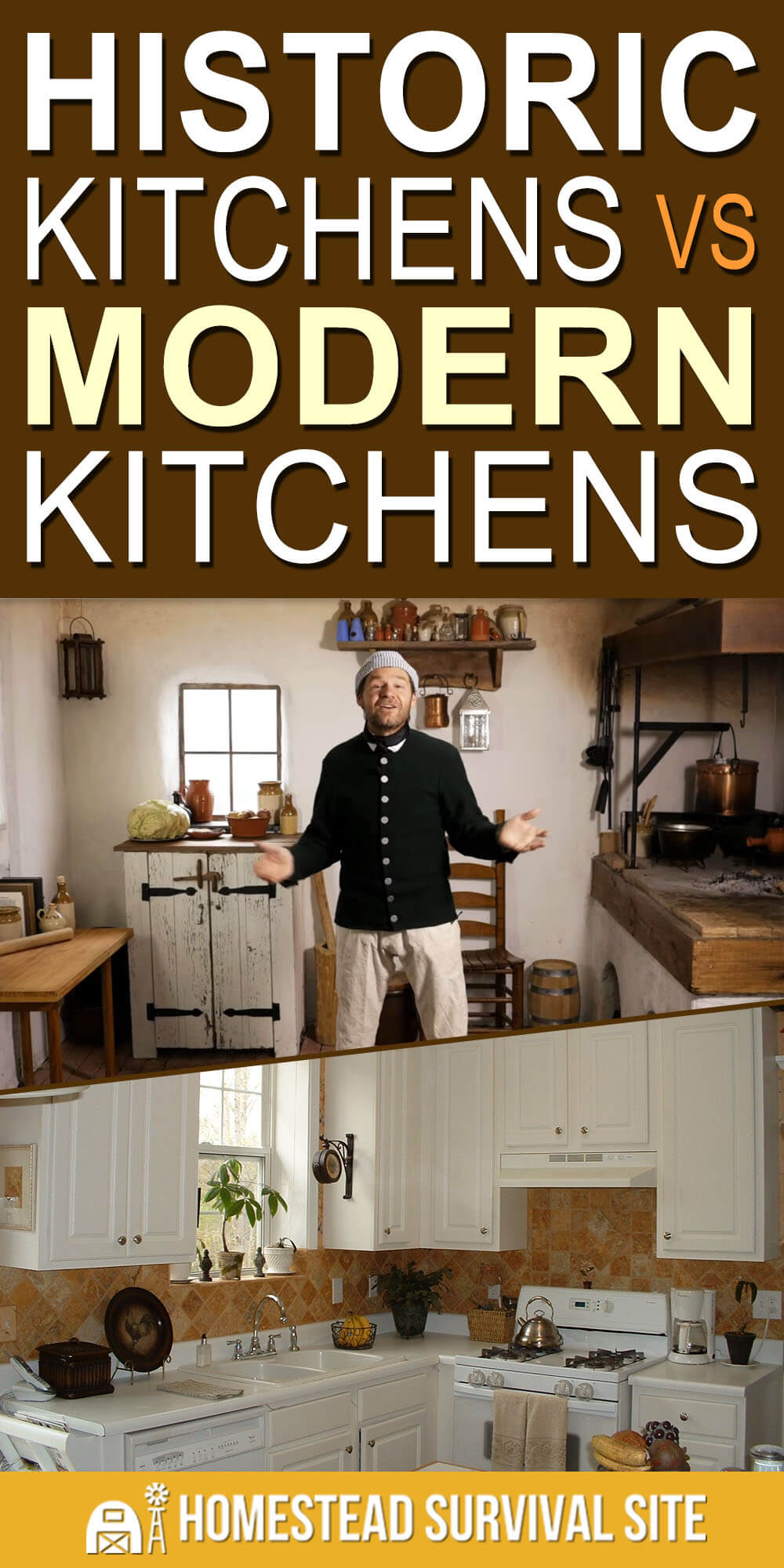 Historic Kitchens vs. Modern Kitchens