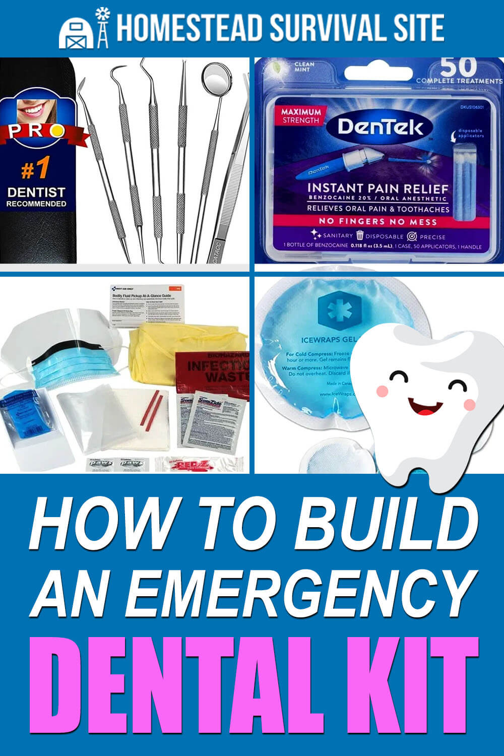 How To Build An Emergency Dental Kit