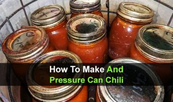 How To Make And Pressure Can Chili