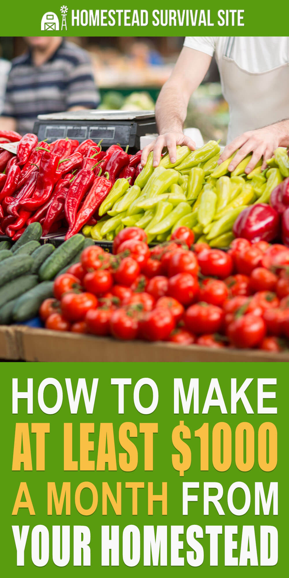 How To Make At Least $1000 a Month From Your Homestead