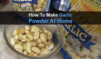 How To Make Garlic Powder At Home