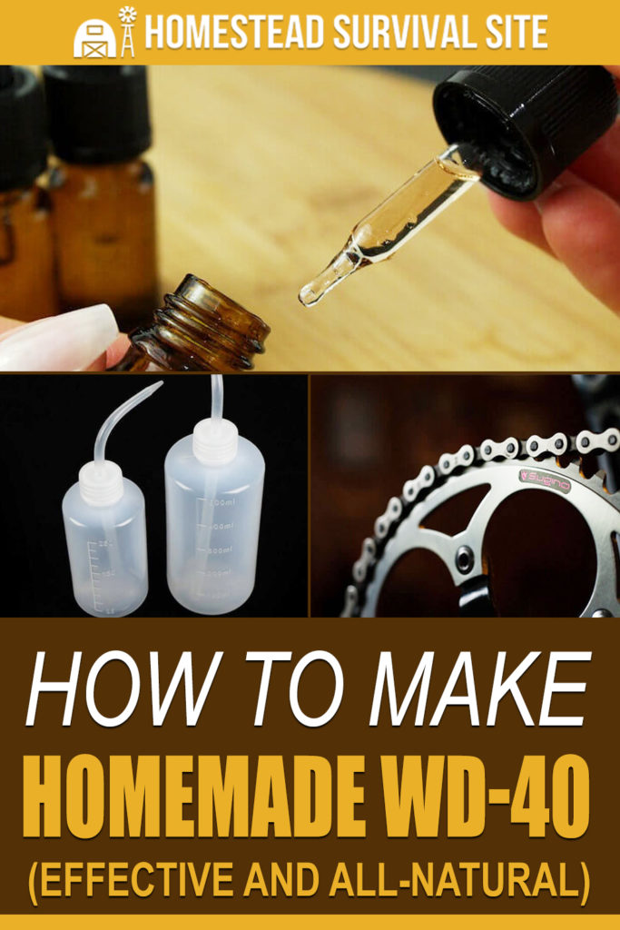 How To Make Homemade WD-40 (Effective and All-Natural)