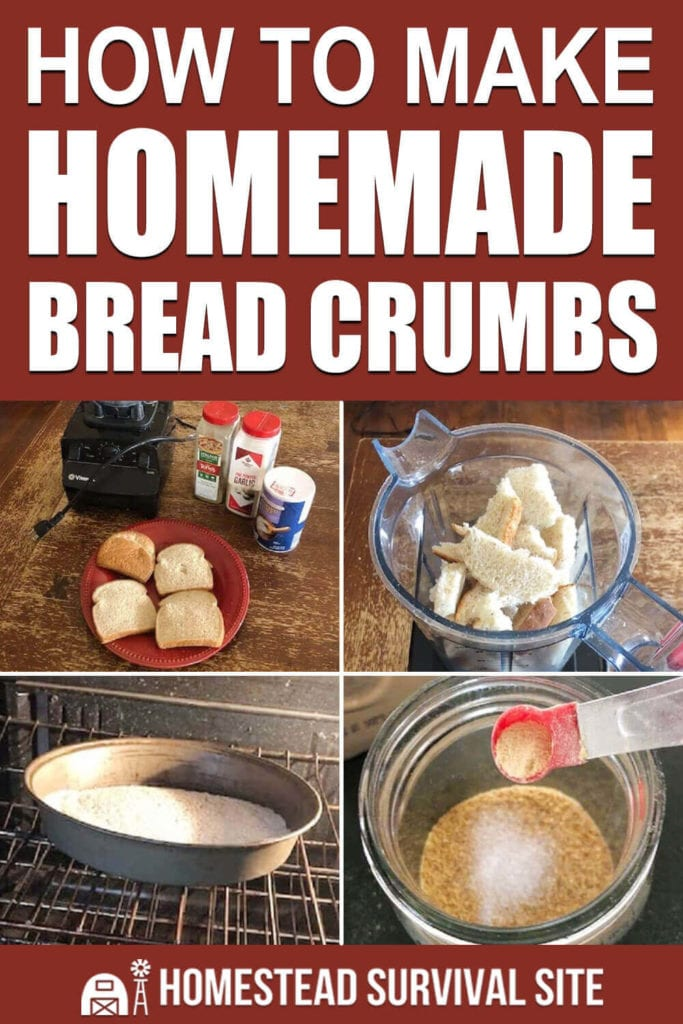 How to Make Homemade Bread Crumbs