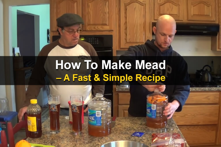 How To Make Mead - A Fast & Simple Recipe