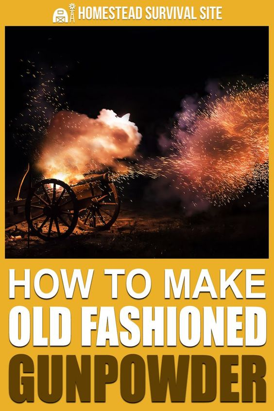 How to Make Old-Fashioned Gunpowder