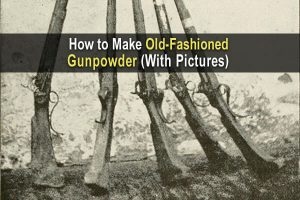 How to Make Old-Fashioned Gunpowder (with Pictures)