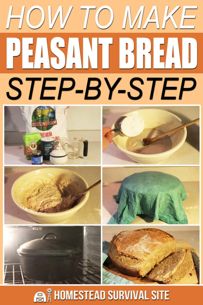 How To Make Peasant Bread Step-by-Step