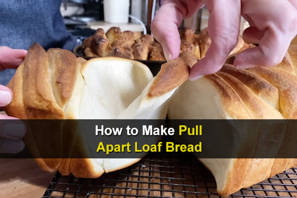 Pull-apart bread is bread designed to be easily pulled apart. You should be able to make it with ingredients you already have.