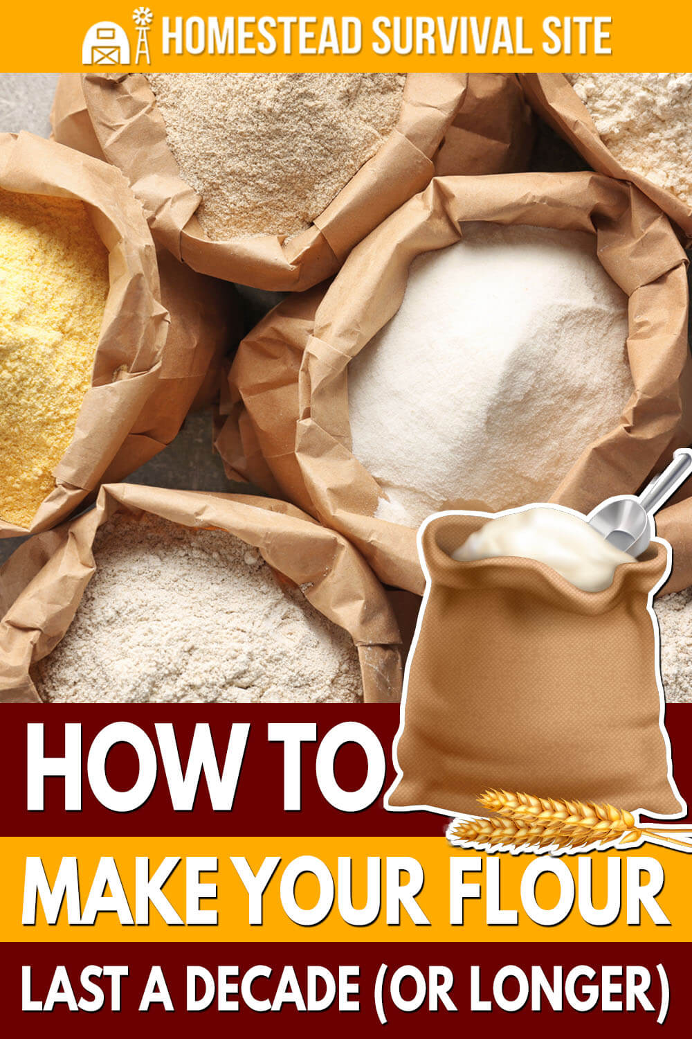 How to Make Your Flour Last a Decade (or Longer)