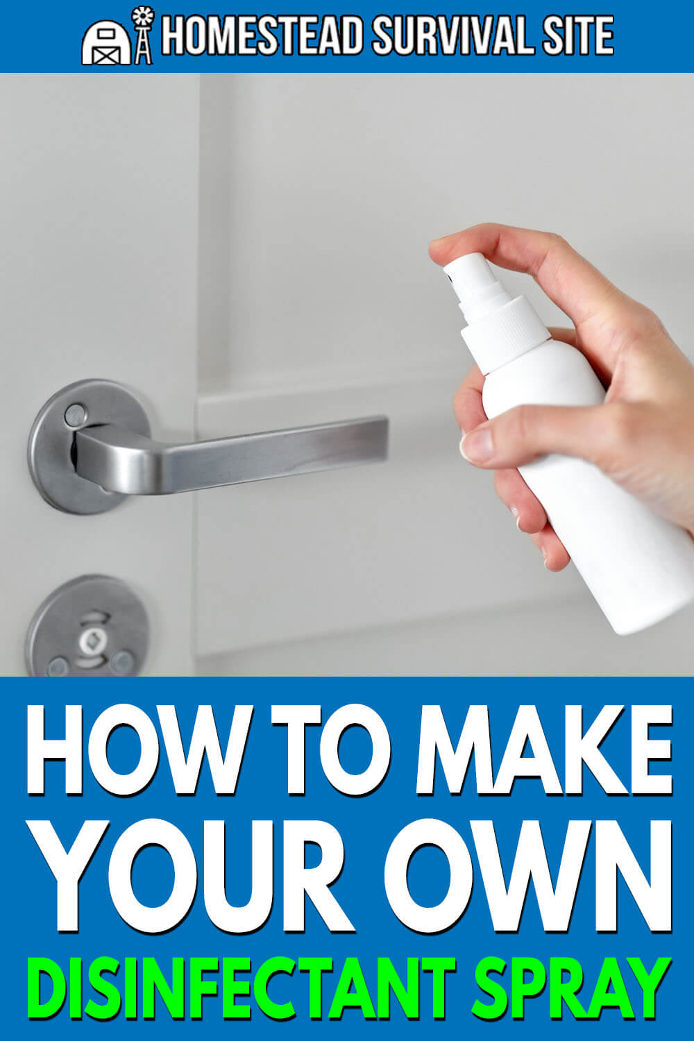 How To Make Your Own Disinfectant Spray