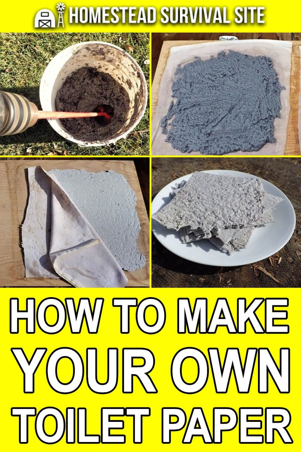How To Make Your Own Toilet Paper
