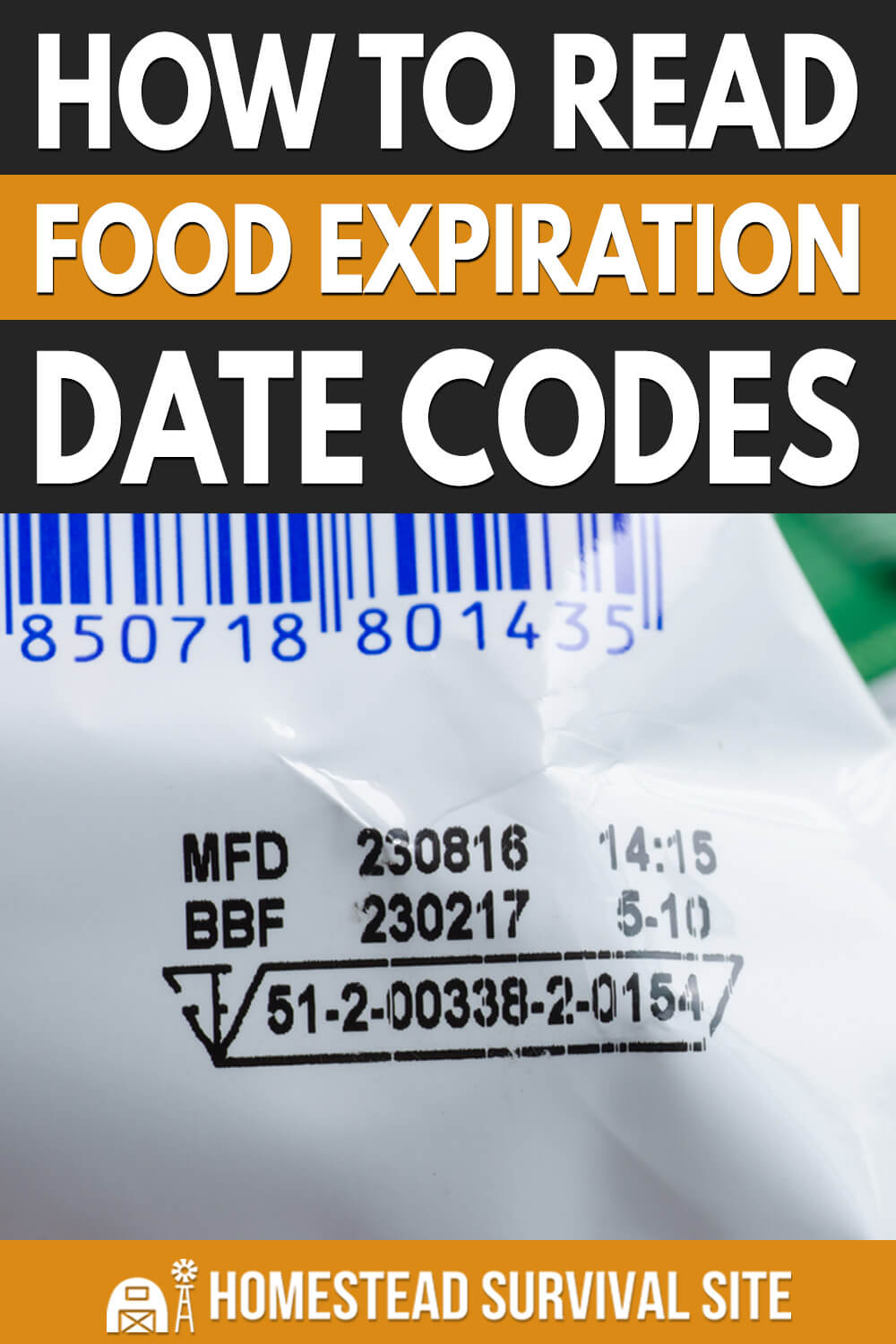 How to Read Food Expiration Date Codes