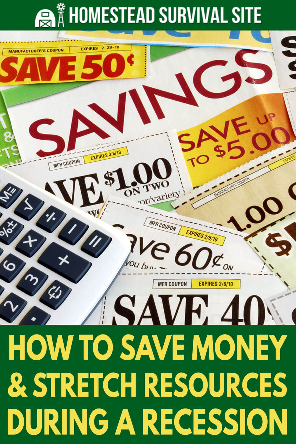How To Save Money And Stretch Resources During A Recession