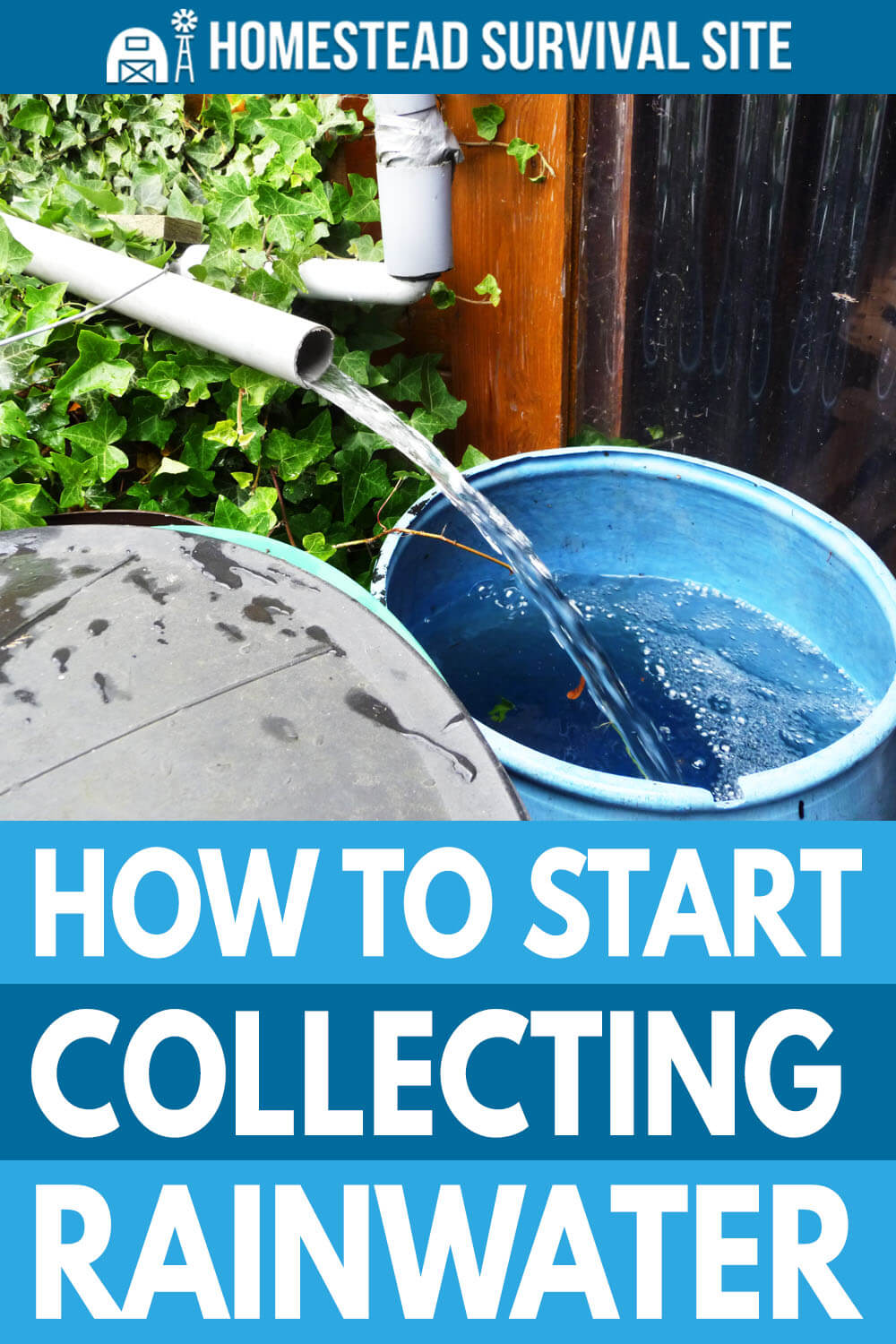 How to Start Collecting Rainwater