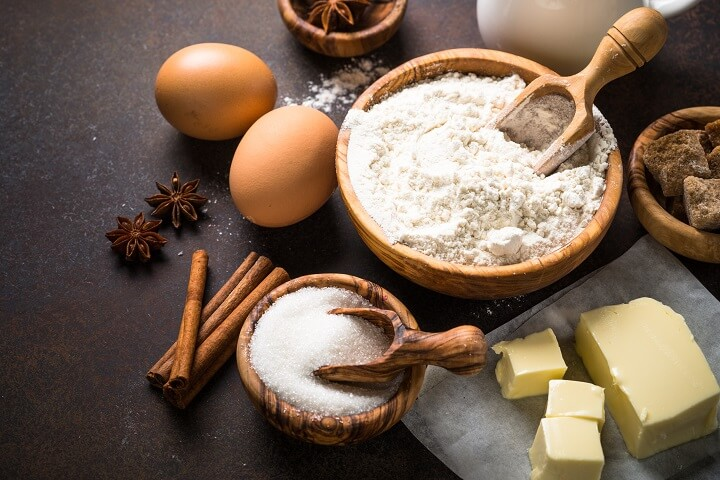 Ingredients for Cooking From Scratch