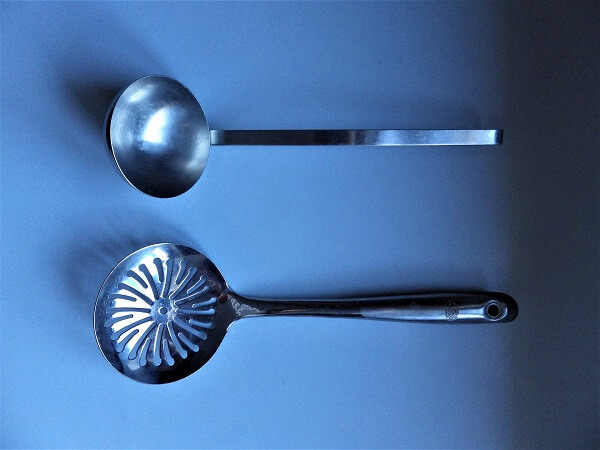 Ladel And Slotted Spoon
