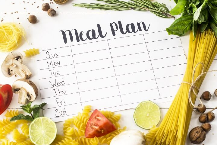 Meal Plan And Food