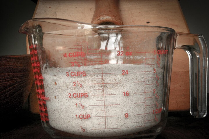 Measuring The Flour
