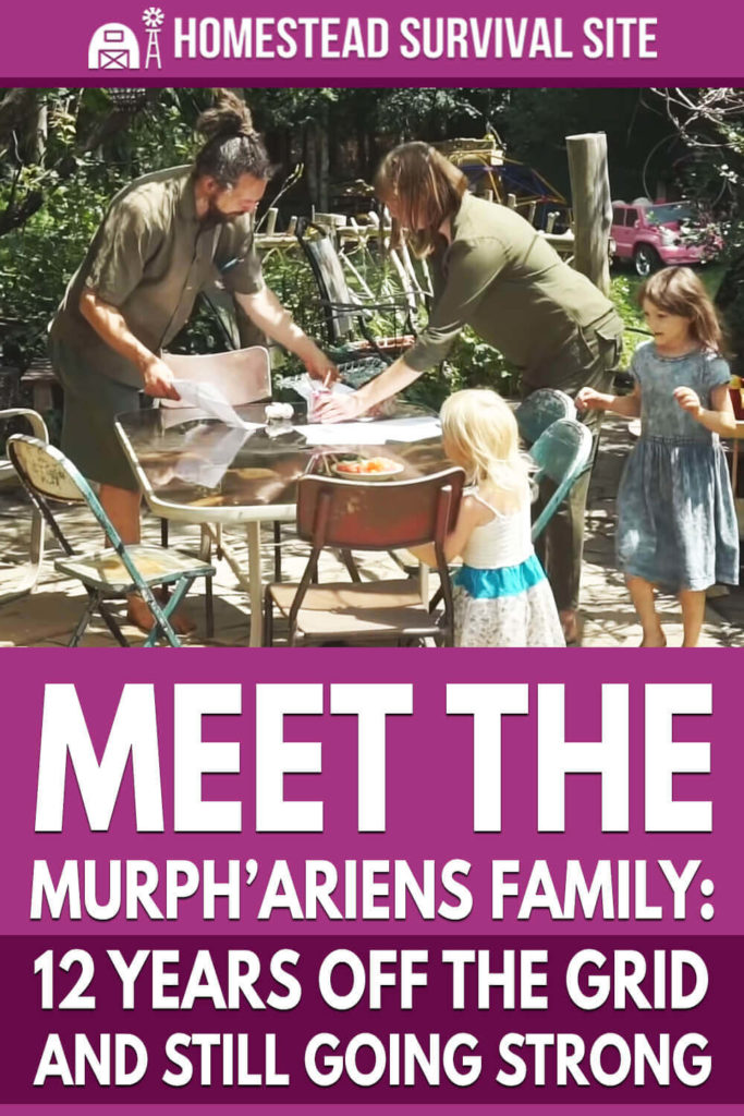 Meet the Murph'Ariens Family: 12 Years Off the Grid and Still Going Strong