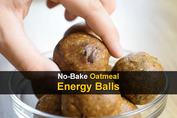 No-Bake Oatmeal Energy Balls